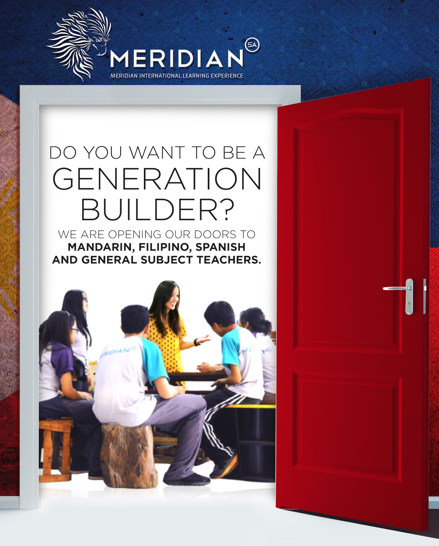 Do you want to be a GENERATION BUILDER