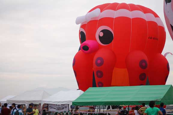 The Octopus hot-air balloon from Japan