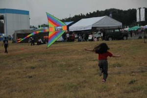 Flying kites with friends felt awesome!!!