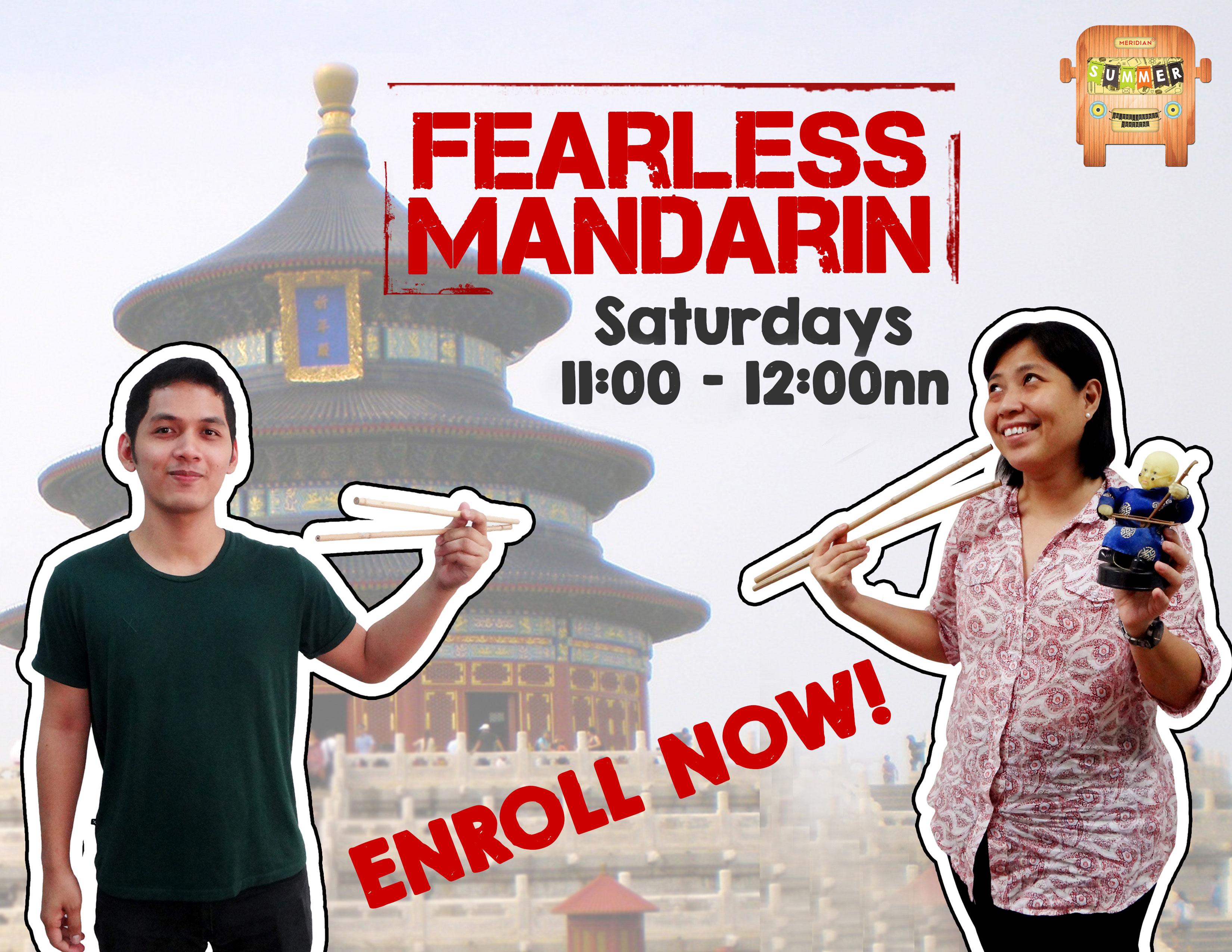 Mandarin-poster