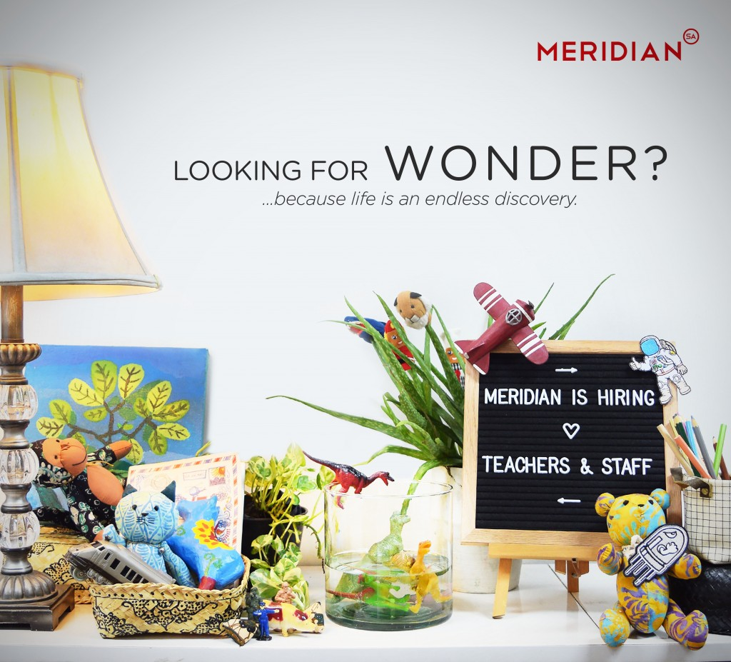 Meridian Hiring Ad - Wonder